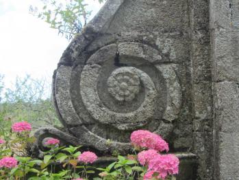 Spirale de l'abbaye de Beauport